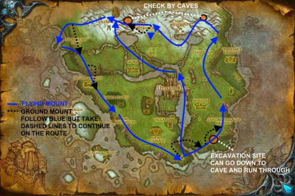 how to get to howling fjord alliance wod